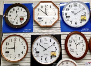 かけ時計,丸,シンプル