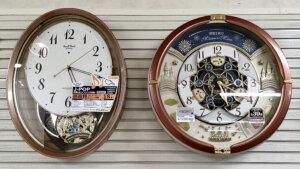 かけ時計,からくり時計