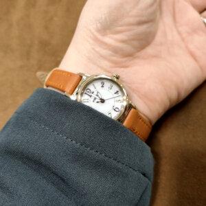 女性向け就活用時計,シチズン,ウィッカ