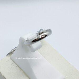 プラチナのリング
